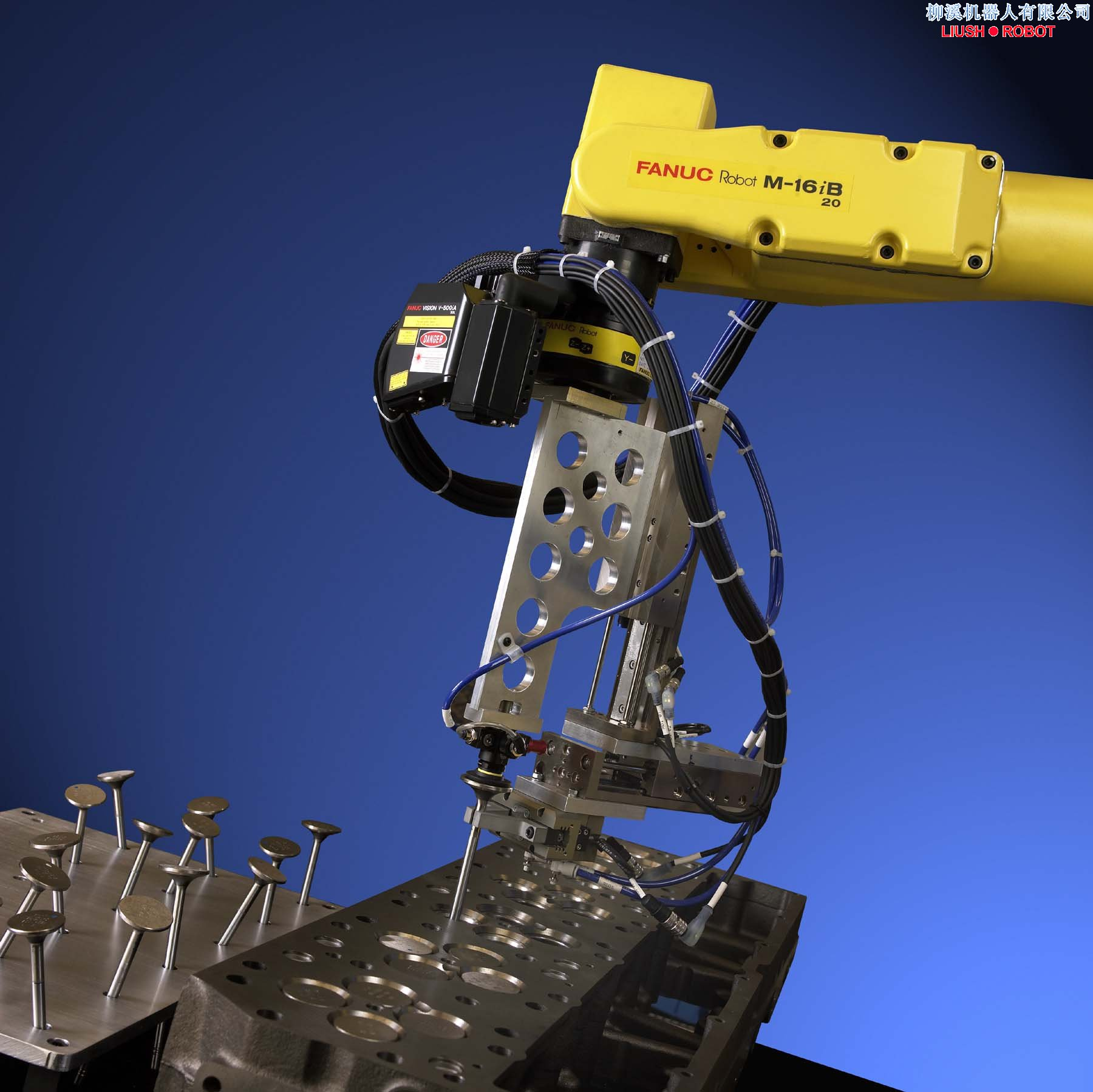 如美国,日本等国家的汽车装配生产线上采用机器人来装配汽车零部件,在